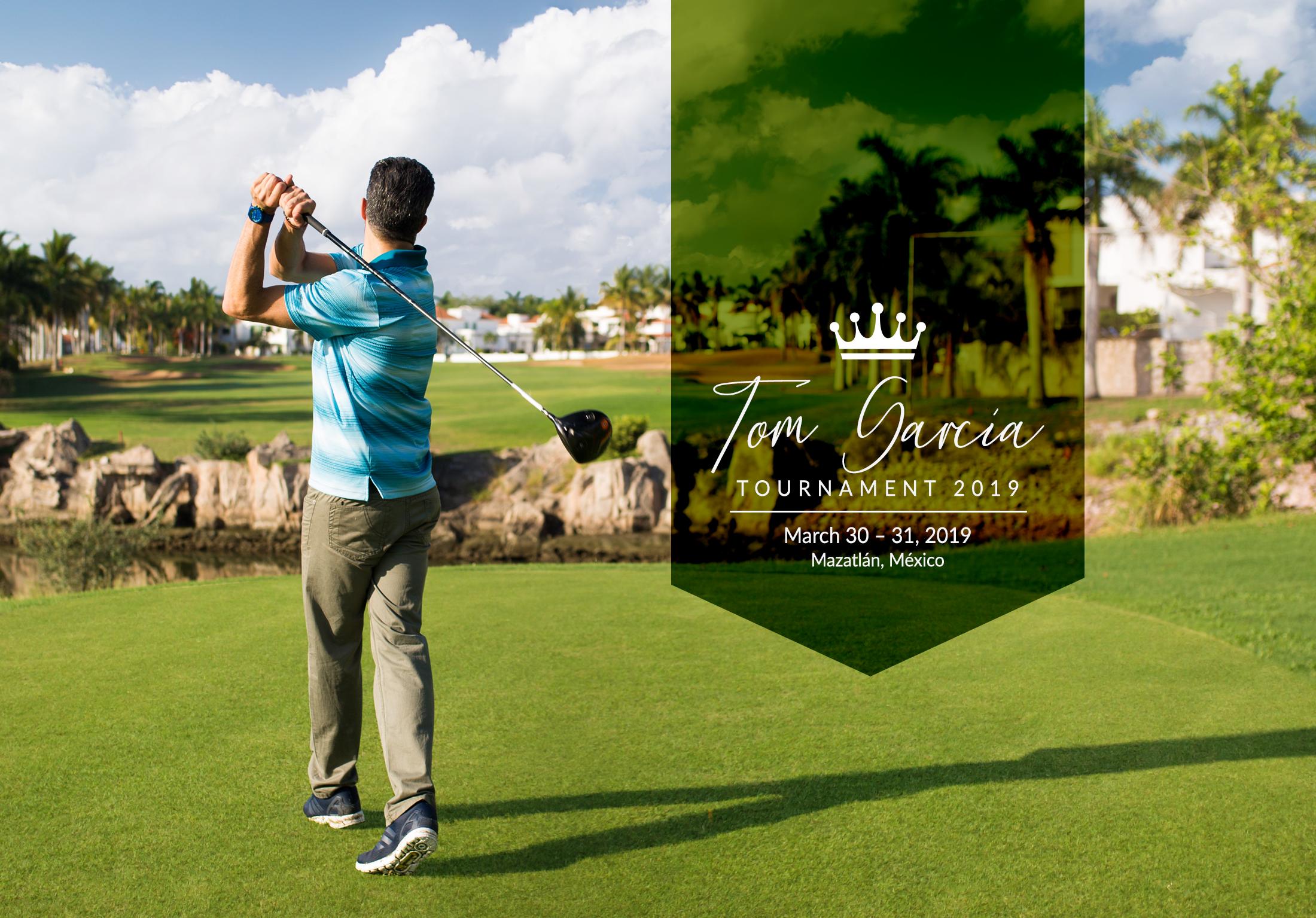 Tom García – Golf Tournament 2019