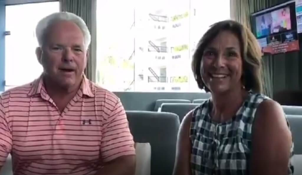 Cynthia and Richard Jandrain
