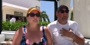 Jeffrey Benton and Kathy Evans in Riviera Maya