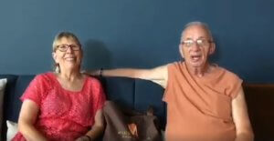 Members Ron and Brenda enjoy their vacation in PM