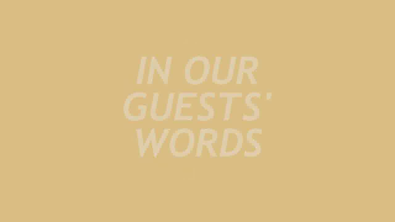 In Our Guests Words - Ciappetta Family