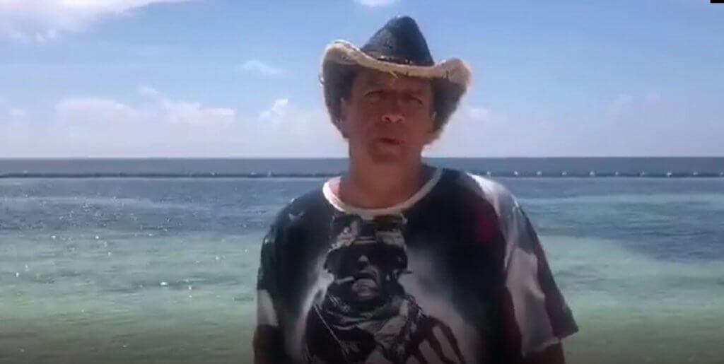 Wayne from Utah spends summer vacation at El Cid Puerto Morelos