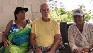 New member Sheldon Delsack enjoys family time at El Cid in Riviera Maya