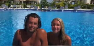 Steph and Bryce enjoy their honeymoon in Puerto Morelos