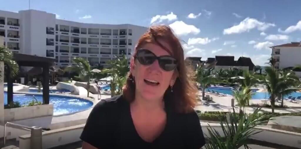 Susan Schaffer shares how comfortable and safe she felt during her trip