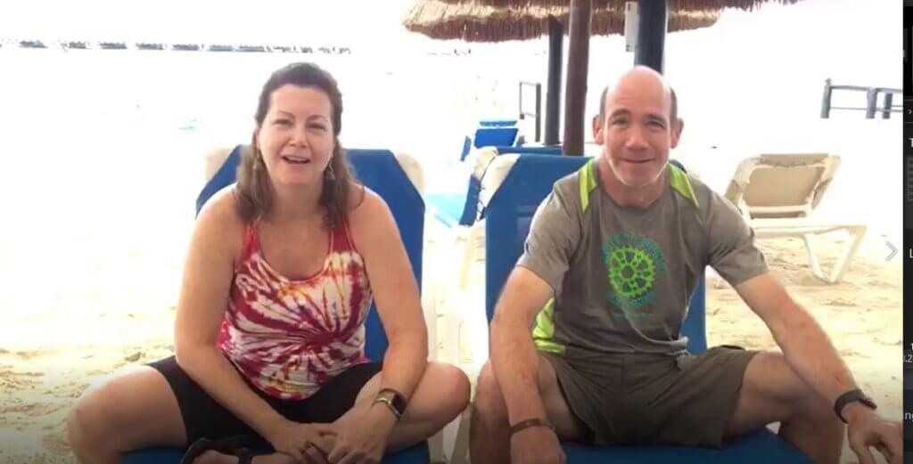 Chris & Lea from Virginia enjoy their vacation!