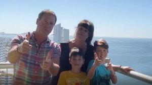 Church Family enjoys Mazatlsan to the max!