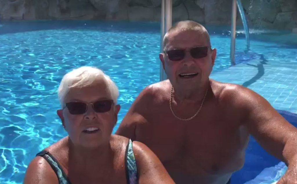 Fred and Myrna Nelson tell us allbout their trip