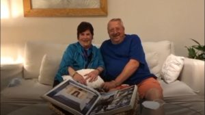 Robin and Stephen Pleasnick celebrate their 46th wedding anniversary spending 2 weeks of twhat they say was the most enjoyable vacation ever!